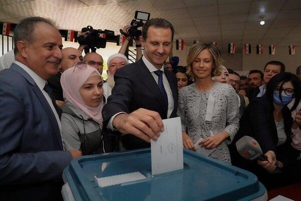 واکنش روسیه به پیروزی بشار اسد در انتخابات سوریه