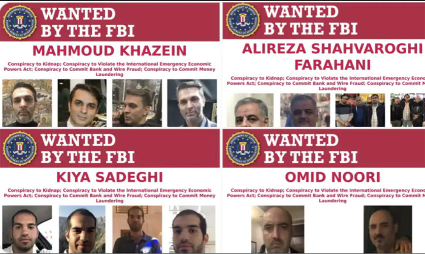 ۴ ایرانی متهم به تلاش برای ربودن مسیح علینژاد در آمریکا شدند