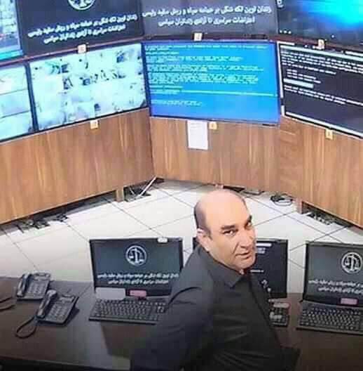 حمید محمدی رئیس زندان اوین
