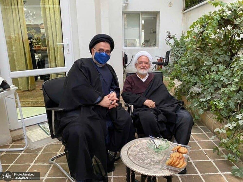 حکایت ابطحی از دیدارش با کروبی بعد از ۱۱ سال/ پیام سیدمحمد خاتمی به مهدی کروبی