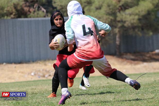 گزارش تصویری مسابقات راگبی بانوان کشور در تهران