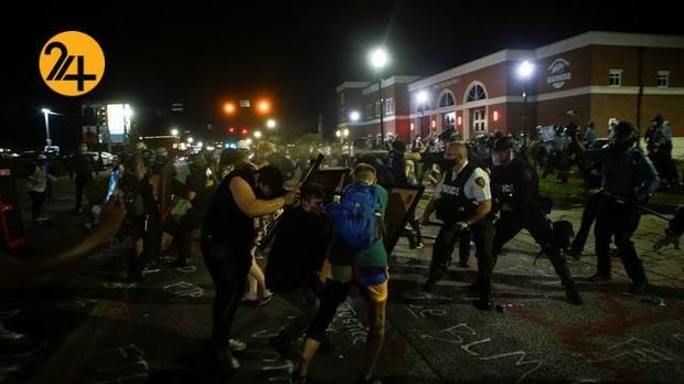 اعتراضات در فرگوسن
