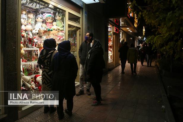 تهران در آستانه سال نو میلادی